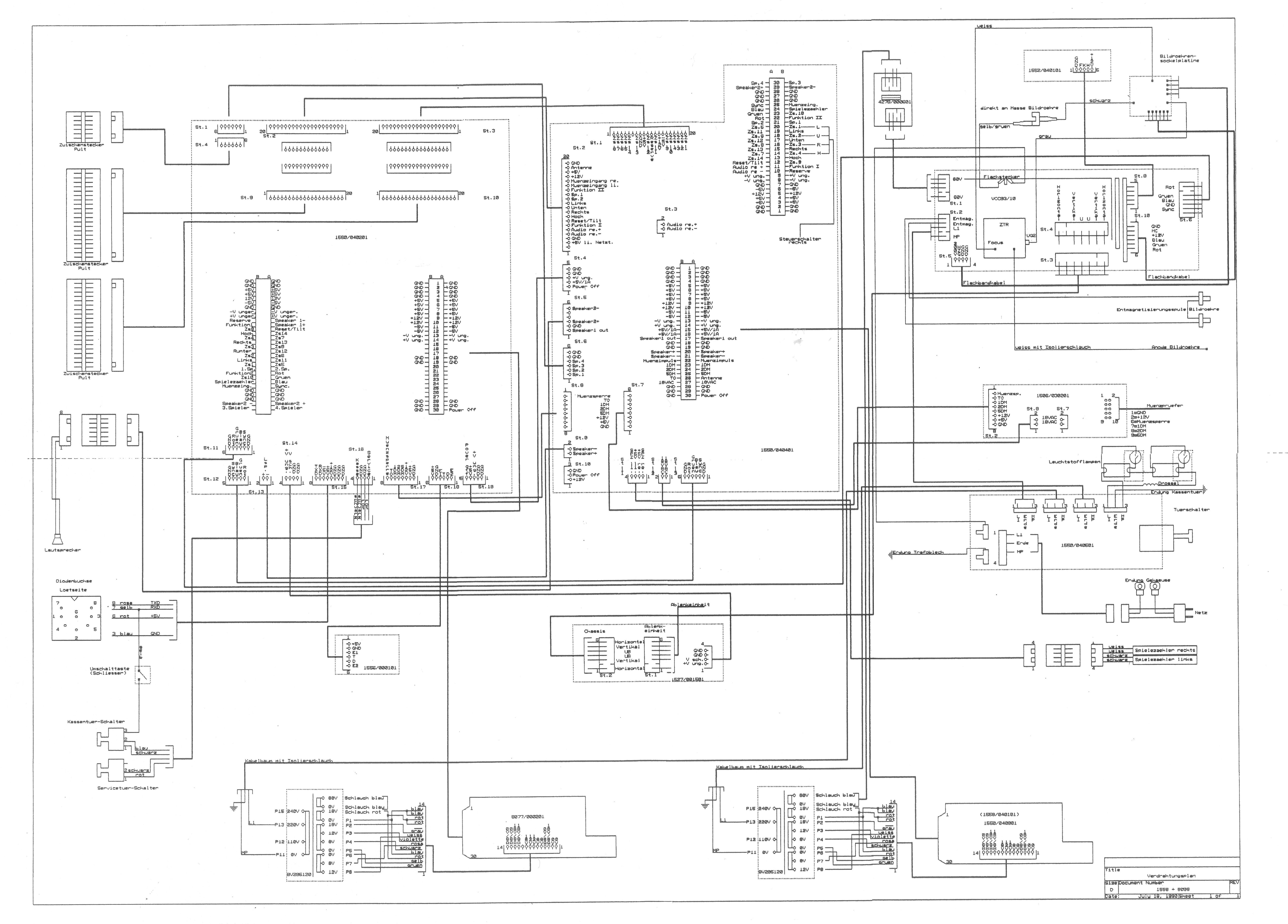 Universal Cabs German Tv To Vga Schematic Adp Ideal Twinline User Service Manual Wiring